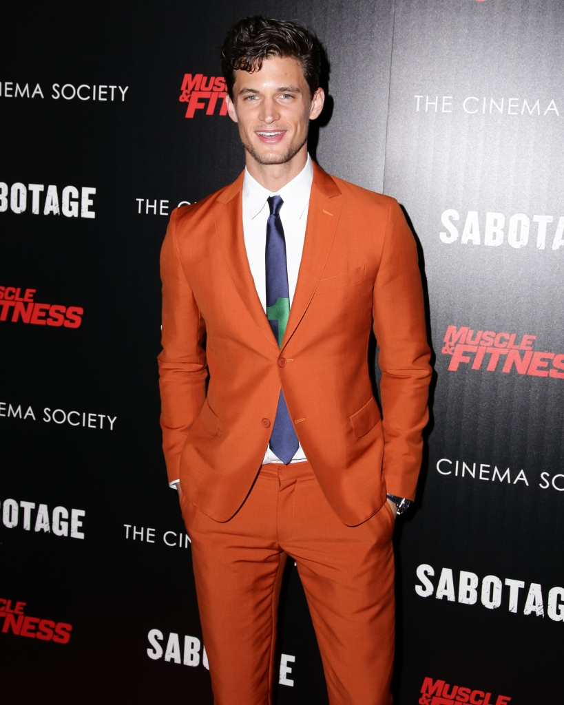 THE CINEMA SOCIETY with MUSCLE & FITNESS Host a Screening of OPEN ROAD FILMS' Sabotage