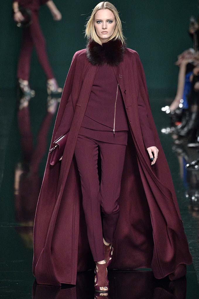 Elie SaabWomenswear Fall Winter 2014 Paris Fashion Week February – March 2014