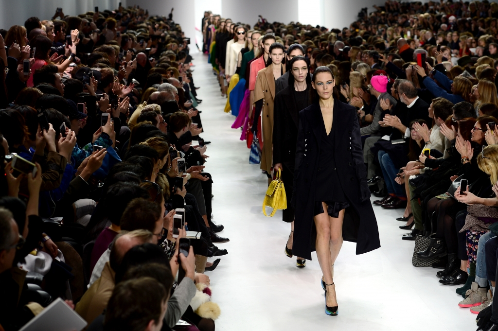 Christian Dior : Runway – Paris Fashion Week Womenswear Fall/Winter 2014-2015