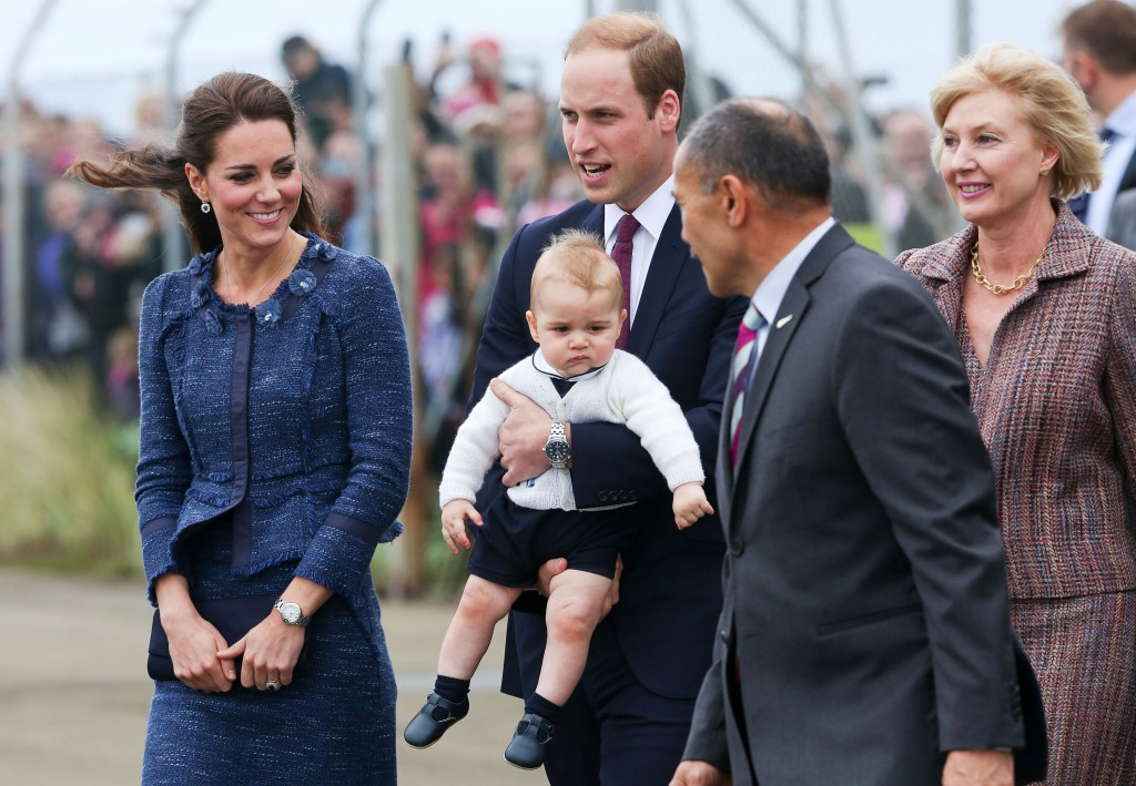 The Duke And Duchess Of Cambridge Tour Australia And New Zealand – Day 10