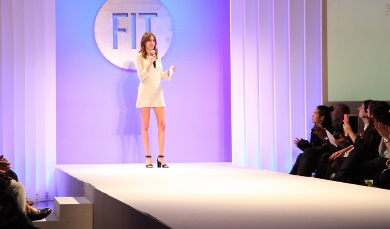 ALEXA CHUNG hosts The Future of Fashion 2014 at FIT