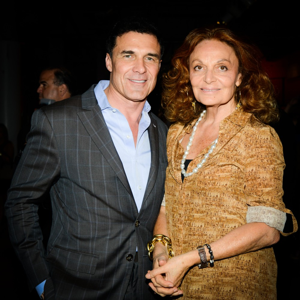 DIANE VON FURSTENBERG, ANDREW ROSEN, and ANDRÉ BALAZS Host MPIA'S Open Market Fundraiser
