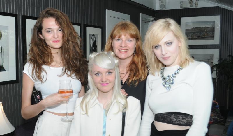 Drenusha Carkani, Josefin Hardinger, Jenny Ljungberg and Cissi Wallin