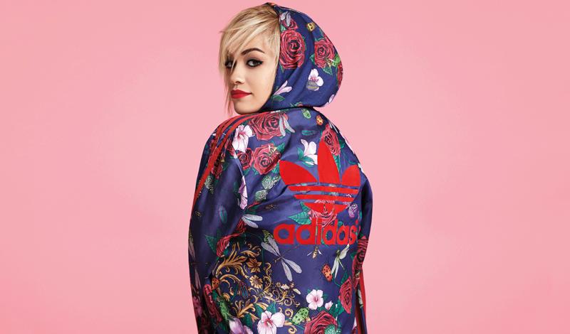 Rita Ora x Adidas Collab