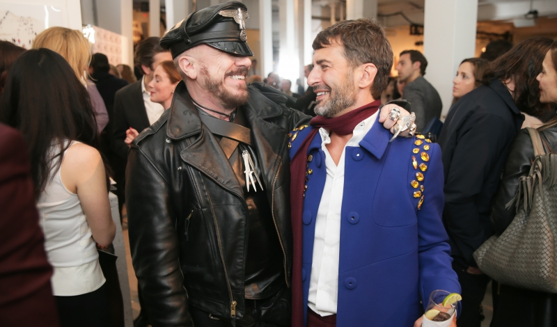 Shot Of The Daily Peter Marino and Marc Jacobs