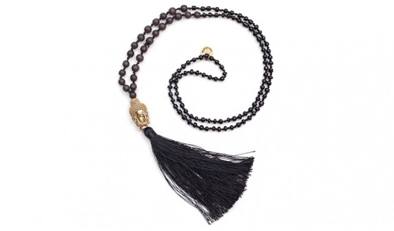 Cocobelle Buddha Stone Necklace