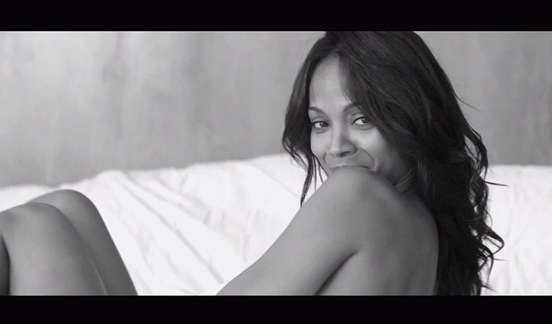 Zoe Saldana Feel So Good