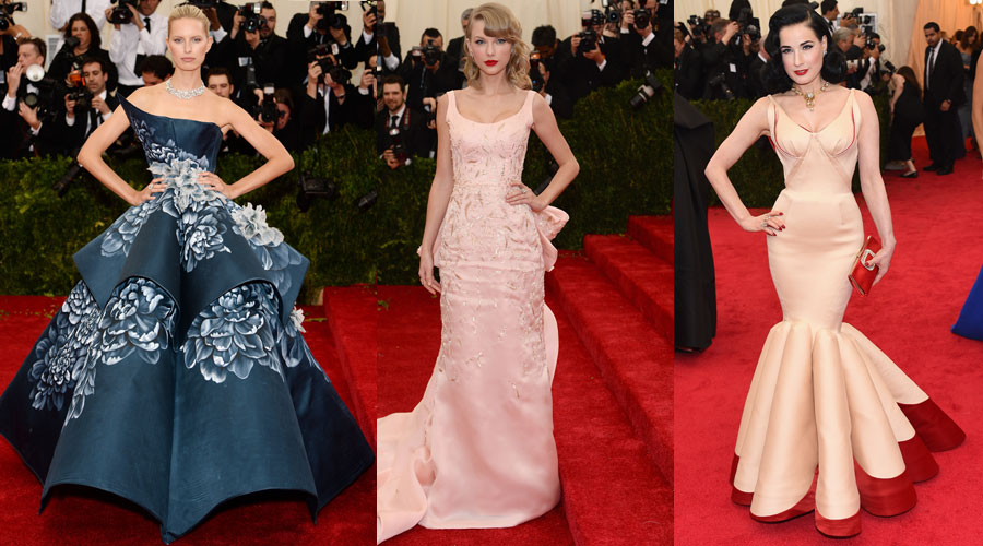 Met Ball 2014: Who Channeled The Drama Of Charles James? - Daily ...