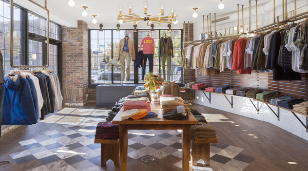"219580aa6e What's cooking at GANT? The menswear label just opened a ""Tasting Table""  concept store in Williamsburg this month where shoppers can refresh their  look and ..."