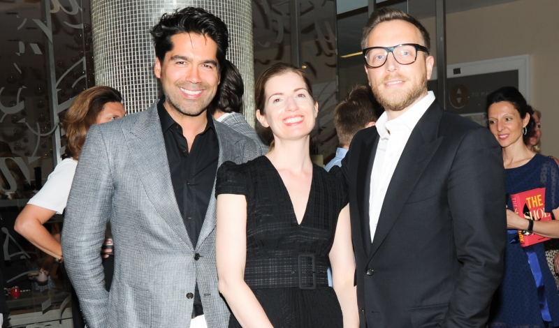 INSTYLE'S Ariel Foxman, SAKS FIFTH AVENUES Marigay McKee and PROSPER ASSOULINE Host a Party to Celebrate The Shoe Book
