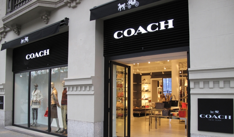coach apparel outlet stui  News Coach Storefront Getty Images