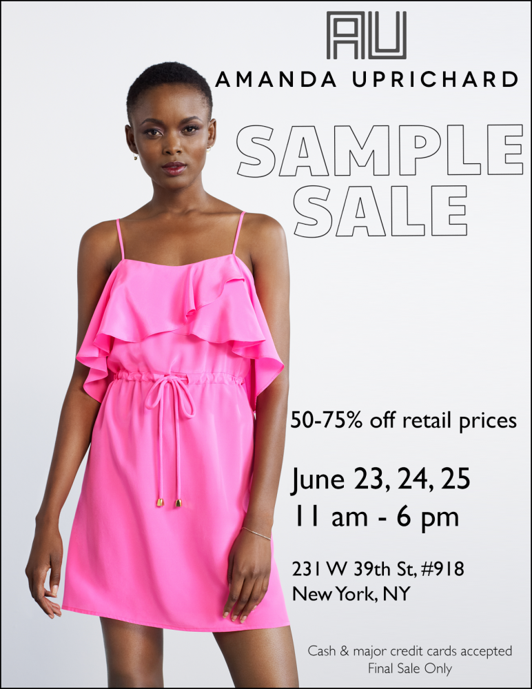 Amanda Uprichard Summer Sample Sale @ Amanda Uprichard Sample Sale