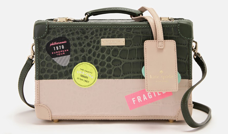 Kate Spade Smoke and Mirrors Corbin bag suitcase 1