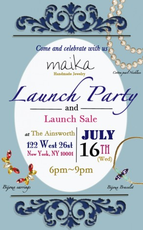 Maika Jewelry Launch Party and Launch Sale @ The Ainsworth | New York | New York | United States