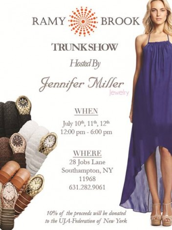 Ramy Brook's Trunk Show At Jennifer Miller @ Jennifer Miller | Southampton | New York | United States