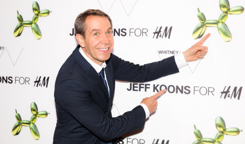H&M x JEFF KOONS 5th Ave Flagship Event