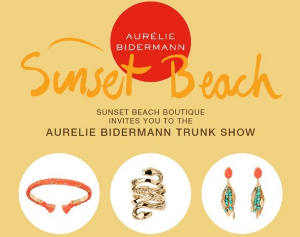 Aurélie Bidermann Trunk Show at Sunset Beach @ Sunset Beach | Shelter Island Heights | New York | United States