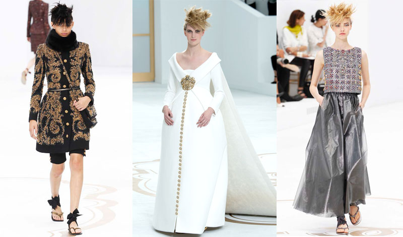 Chanel couture fall 2014 daily front row for Chanel haute couture 2015