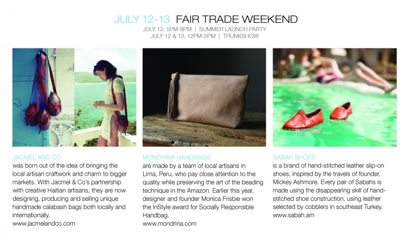 Fair Trade Weekend at Urban Zen Sag Harbor @ Urban Zen Sag Harbor | Sag Harbor | New York | United States
