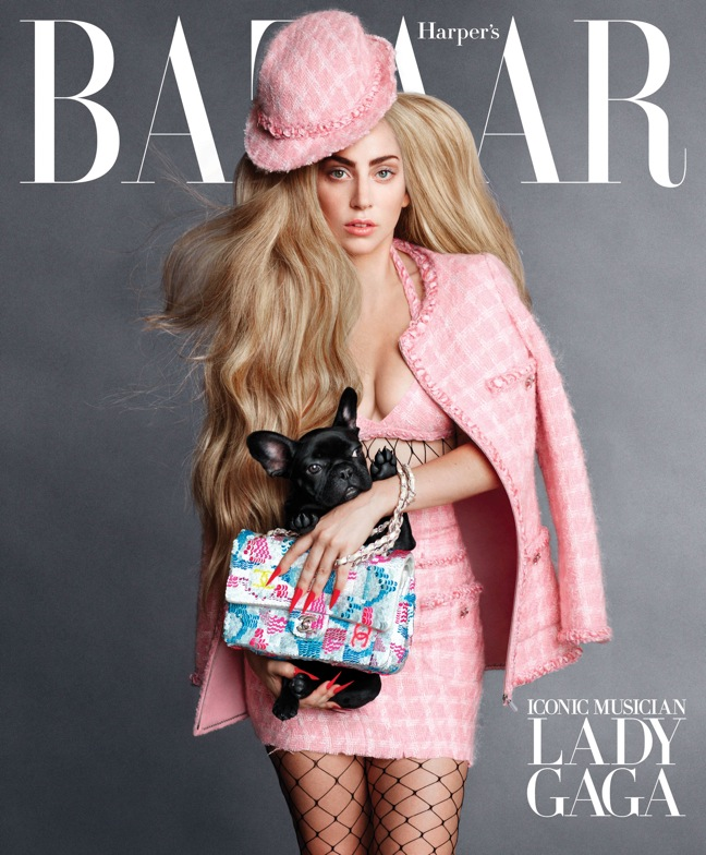 HBZ Sept Cover Lady Gaga