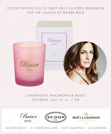 Launch of Baiser Rose With Kelly Killoren Bensimon  @ Scoop Beach  | East Hampton | New York | United States
