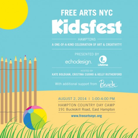 Free Arts NYC Kidsfest Hamptons @ Hampton Country Day Camp | East Hampton | New York | United States