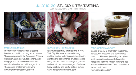 Studio and Tea Tasting at Urban Zen Sag Harbor @ Urban Zen Sag Harbor | Sag Harbor | New York | United States