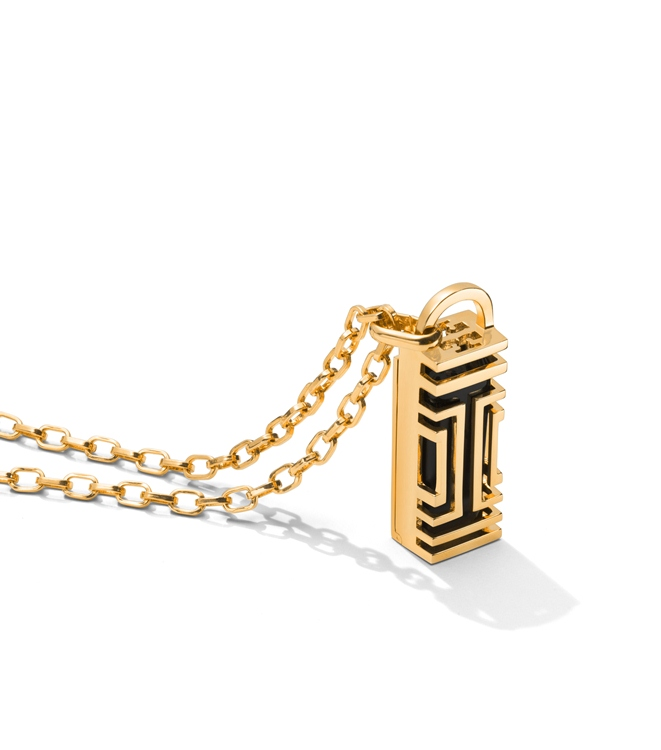 Tory Burch for Fitbit Fret Pendant Necklace 2