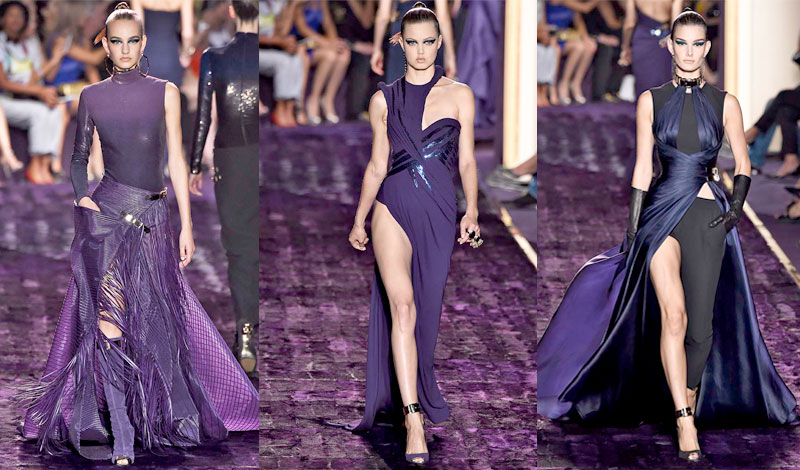 Atelier Versace Couture Fall 2014 - Daily Front Row