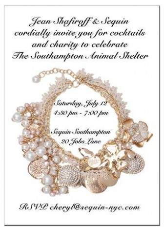 Jean Shafiroff & Sequin Celebrate The Southampton Animal Shelter @ Sequin Southampton  | Southampton | New York | United States
