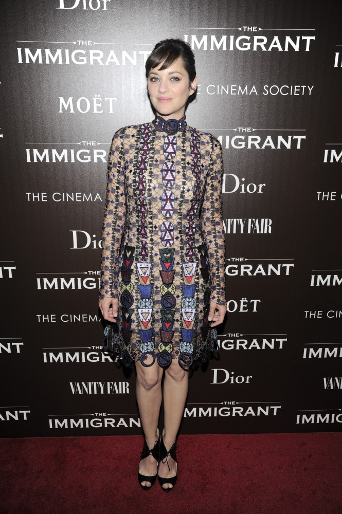 "Dior & Vanity Fair with The Cinema Society host the premiere of The Weinstein Company's ""The Immigrant"""