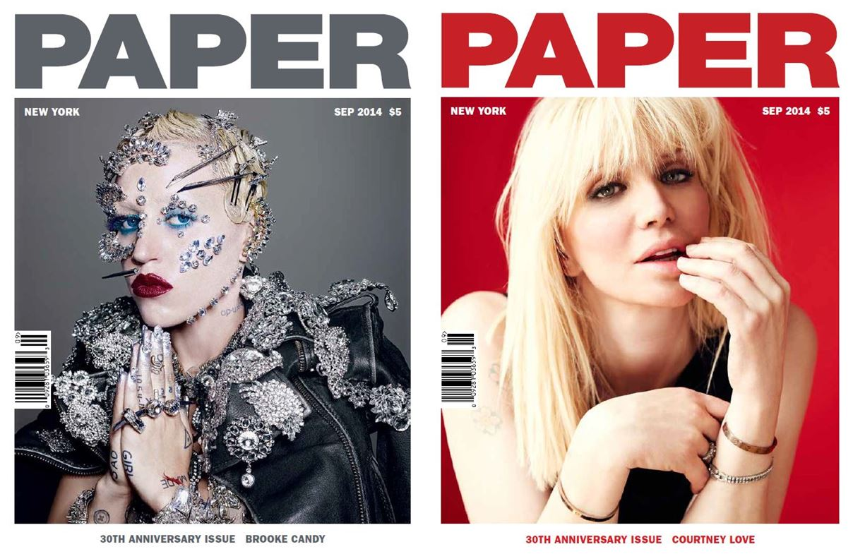 PAPER Magazine Celebrates 30 Years With Cover Stars ...