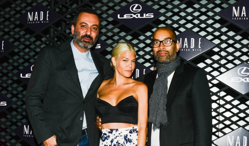 LEXUS DESIGN DISRUPTED at MADE FASHION WEEK Hosted by JOE ZEE Featuring COCO ROCHA and GILES DEACON