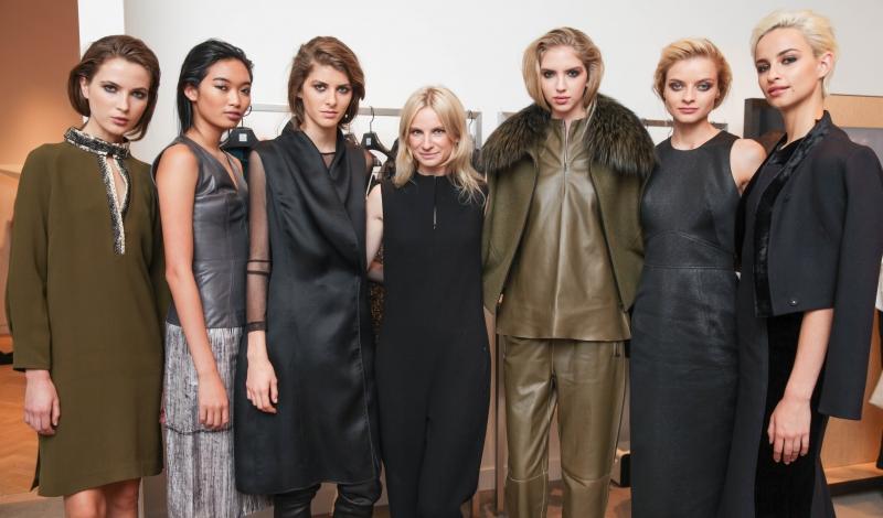 KAROLINA ZMARLAK FW14 Fashion Film Launch with Saks Fifth Avenue