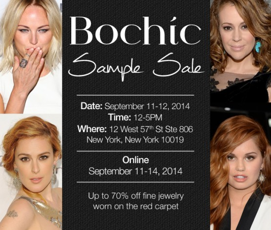 Bochic Sample Sale @ New York | New York | United States