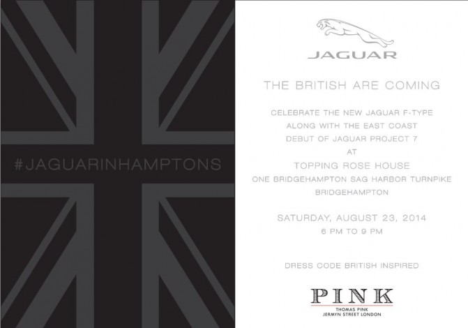 The British Are Coming With The New Jaguar F-Type @ Topping Rose House | Bridgehampton | New York | United States
