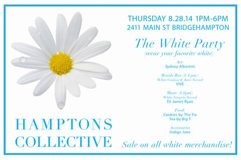 The Hamptons Collective White Party @ Hamptons Collective Pop-Up | Bridgehampton | New York | United States