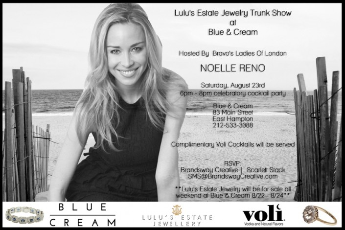 Lulu's Estate Jewelry Trunk Show @ Blue & Cream | East Hampton | New York | United States