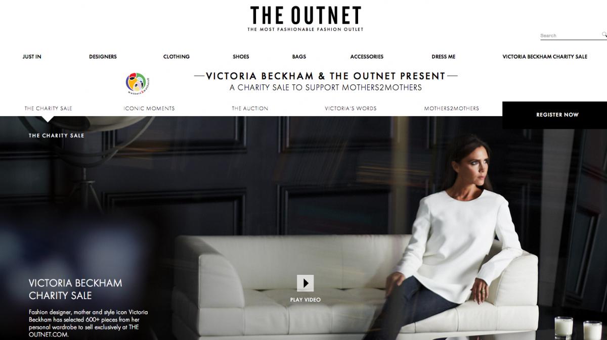 Victoria Beckham x TheOutnet