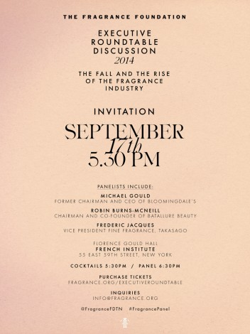 The Fragrance Foundation Executive Roundtable Discussion @ French Institute  | New York | New York | United States