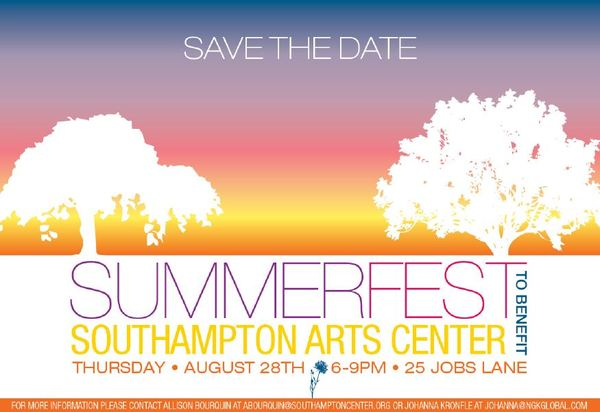 SummerFest Benefit @ SOUTHAMPTON ARTS CENTER | Southampton | New York | United States