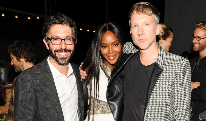 Paul van Zyl, Naomi Campbell, Jefferson Hack
