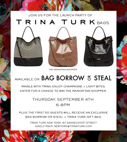 Trina Turk Bag Borrow or Steal Event @ Trina Turk New York | New York | New York | United States