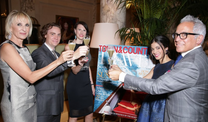 TOWN&COUNTRY Celebrates the Return of T&C Travel at Palm Court