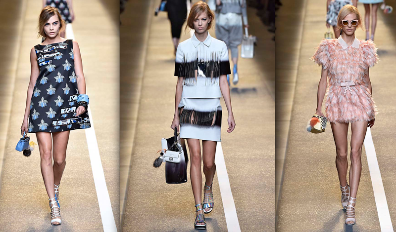 c111ca57181 Fendi Spring 2015 - Daily Front Row