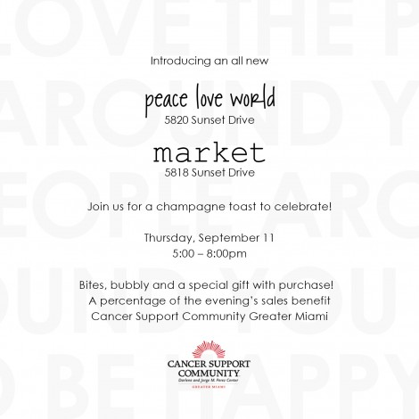 Peace Love World Celebrating New Store Opening on Sunset @ Peace Love World | South Miami | Florida | United States