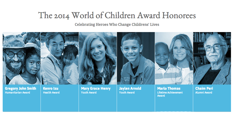 World of Children® Award to Hold 2014 Annual Awards Ceremony  @ 583 Park Avenue | New York | New York | United States