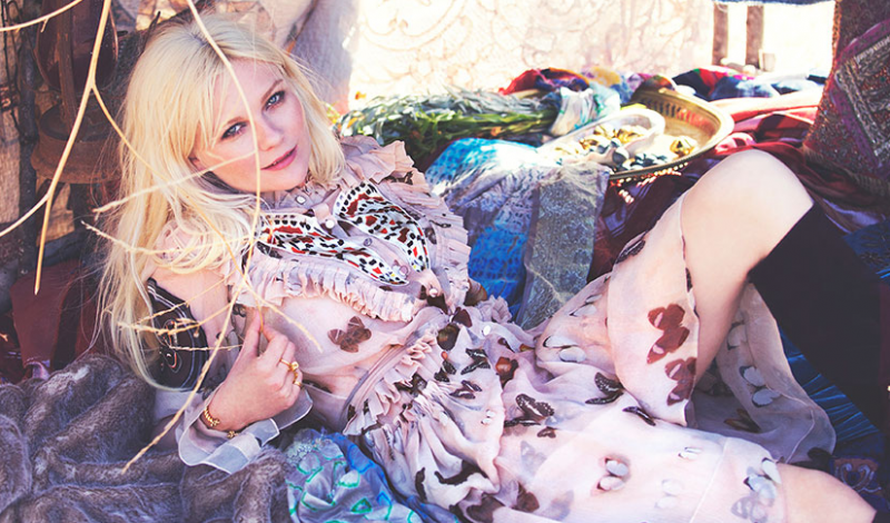 Kirsten Dunst for The Edit