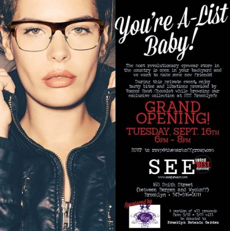 SEE Eyewear Opens in Brooklyn @ New York | United States