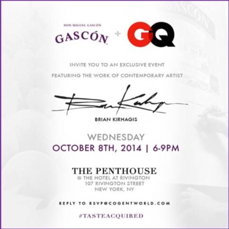 GQ + GASCON #TasteAcquired Affair @ New York | New York | United States
